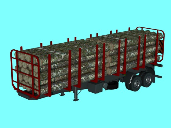 Truck Wood Trailer Free