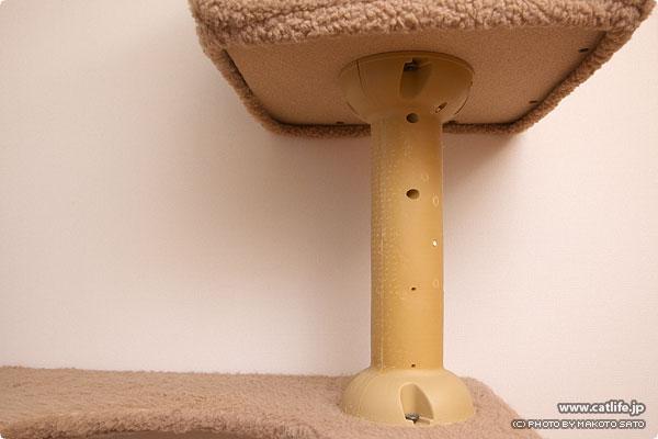 縄ヒモの無くなったタワーの柱部分