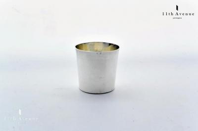 フランス 純銀製リキュールカップ