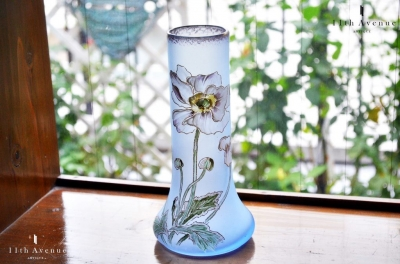 ルグラ エナメル彩花瓶