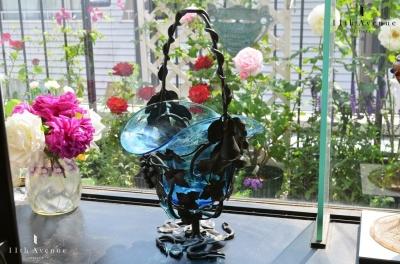アンティーク 花籠