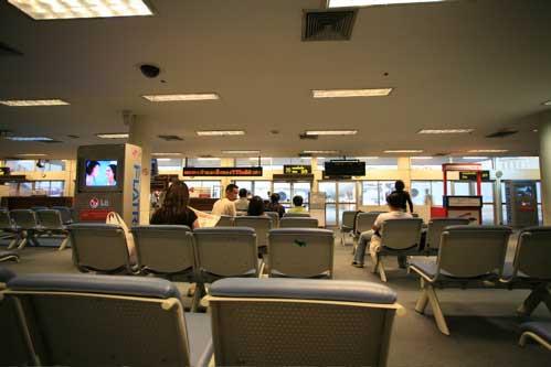 ドン・ムアン空港のロビー
