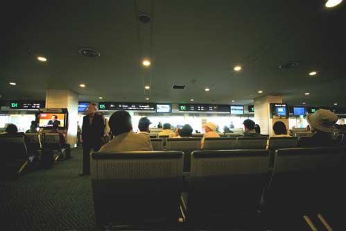 羽田第2ターミナル 106番ゲート