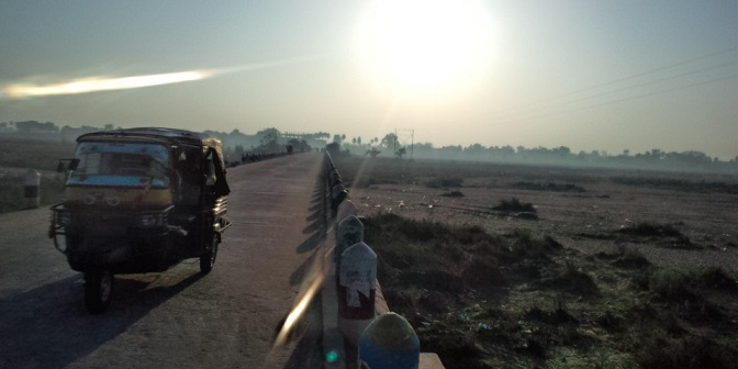 Niranjana River under the Sun