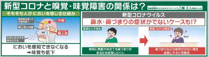 嗅覚 コロナ 味覚 コロナ後遺症の味覚・嗅覚障害 ほとんどの患者が「亜鉛不足」 NEWSポストセブン