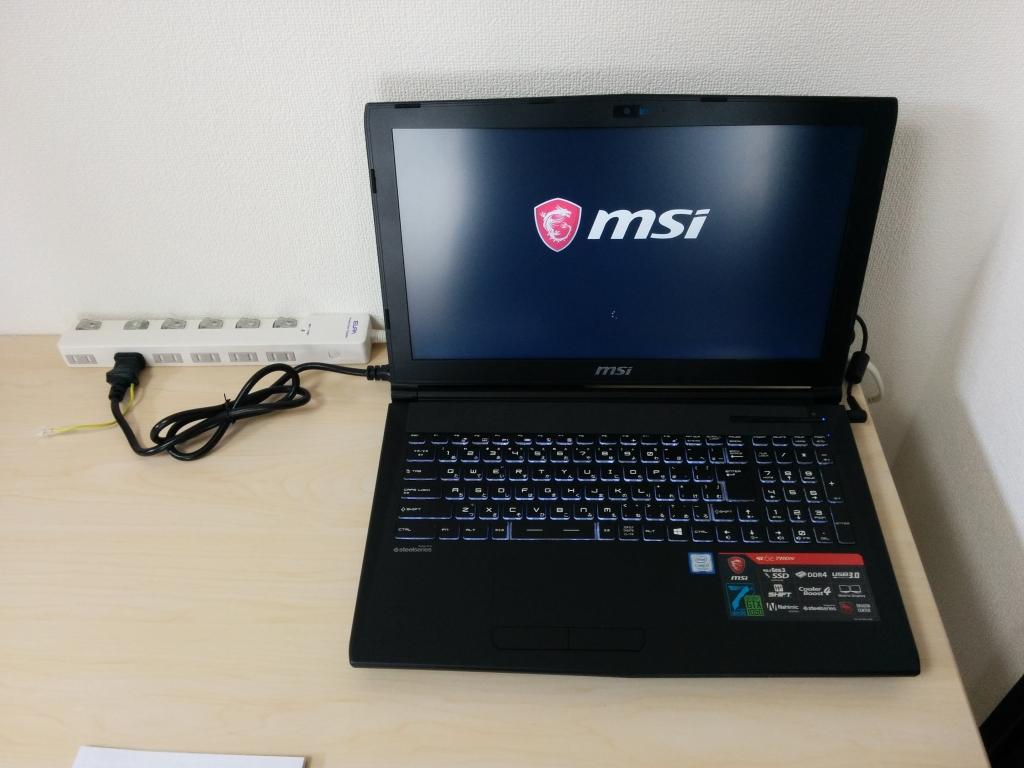 MSI ノートPC2