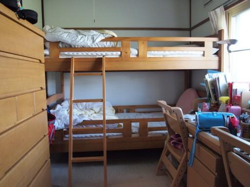 2段ベッド導入 | がくちゃんの気まぐれ日記
