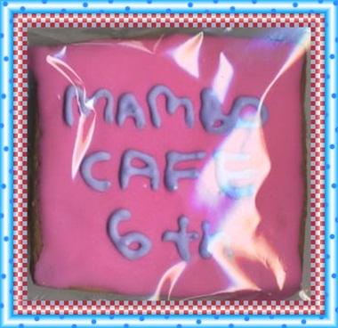 7/29のイベントで頂いたマンボカフェ店長さんの手作りスペシャル・クッキーです♪