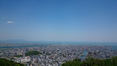 徳島市 眉山
