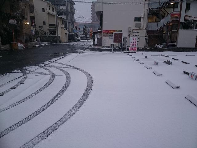 徳島文理大学 雪