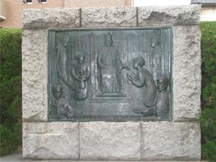 西洋演劇発祥記念碑