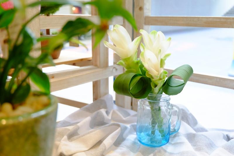 クルクマ 花瓶