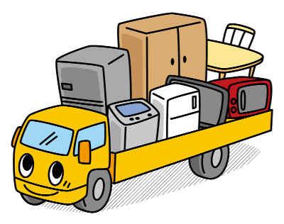 リユース商品の運送