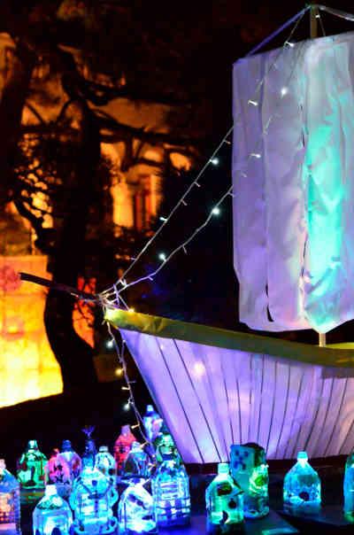 夜灯(よとぼし)の創作の灯篭の画像