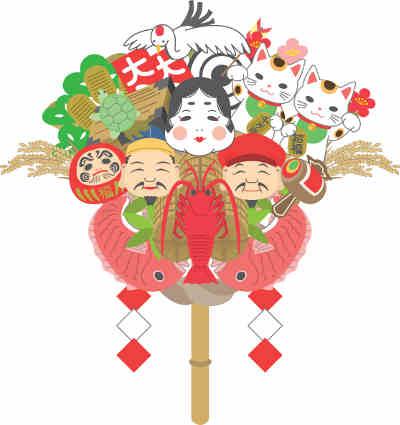 浅草・鷲(おおとり)神社の熊手の画像
