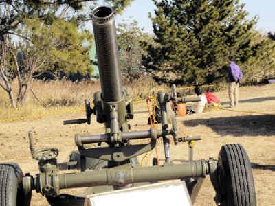 習志野第1空挺団_120mm迫撃砲の画像