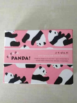 バレンタインのパンダのチョコレートの画像