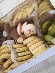 音楽の先生が作った手作りクッキー