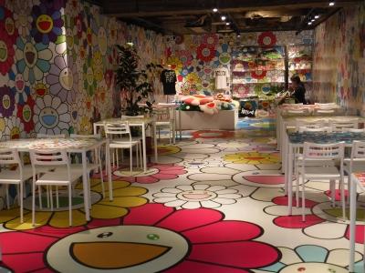 Nakano broadway sunny flowers cafe