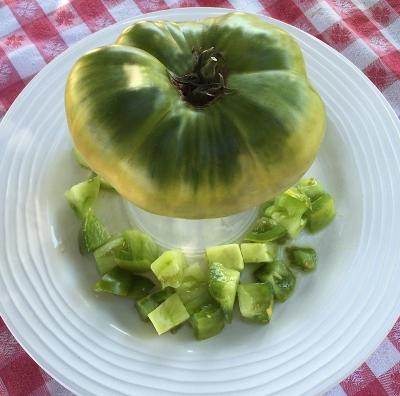 グリーンジャイアントトマト