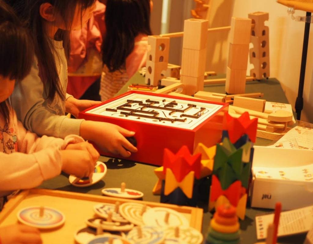 グッド・トイ 木育おもちゃの広場 キャラバンの様子 ブリオ