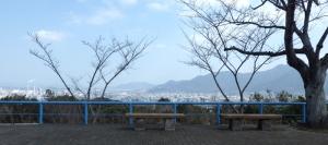 鷲峰山公園 外飯