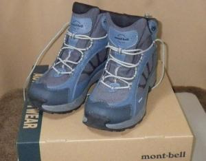 登山靴 モンベル インナーソール 中敷き