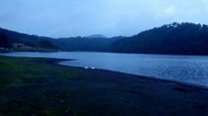 志高湖 キャンプ 台風