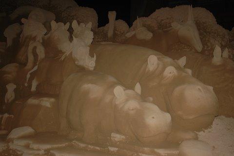 砂の美術館 動物1