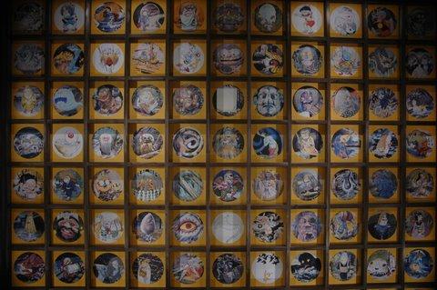 円流院の天井画