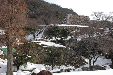 城の石組み