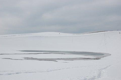 砂丘の雪景色2