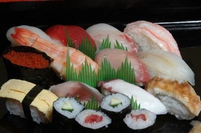 泊まり用のお寿司