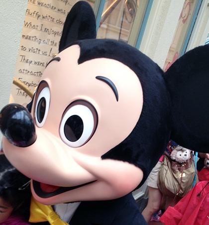 夢の国東京ディズニーランド ミッキーマウス