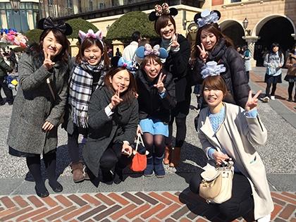 社員旅行:ディズニーシーと東京へ