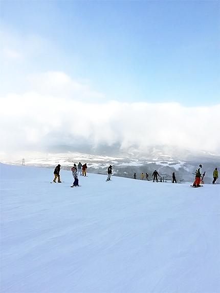 岐阜県にスノーボードをしに行きました!