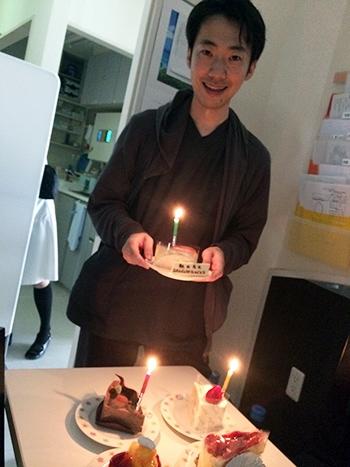 朝田院長の誕生日♪