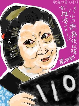 【歌舞伎美人時計】110