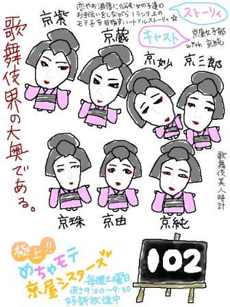 【歌舞伎美人時計】102