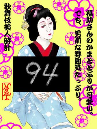 【歌舞伎美人時計】94