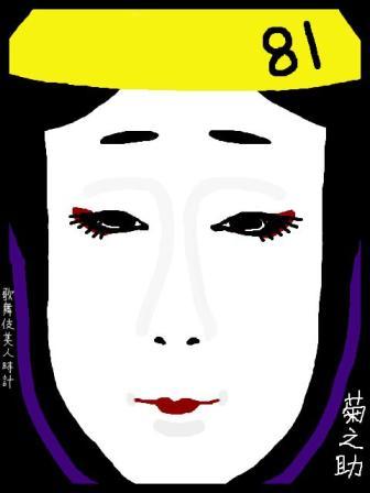 【歌舞伎美人時計】81