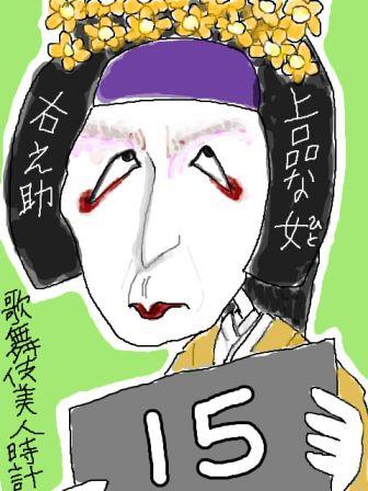 【歌舞伎美人時計】15
