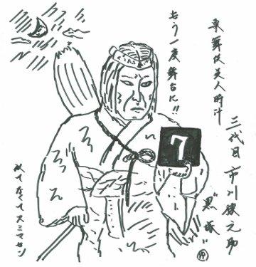 【歌舞伎美人時計】7
