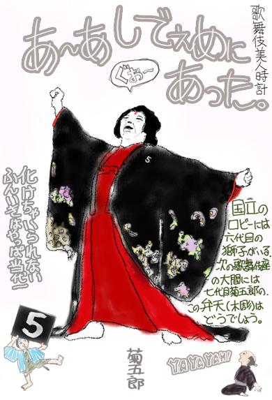 【歌舞伎美人時計】5