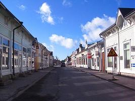 トゥルクの街並み