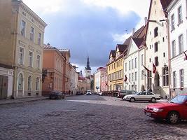 エストニア、世界遺産の街並み
