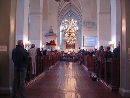 オレフ教会でのコンサート