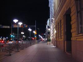 ヘルシンキ、夜の街