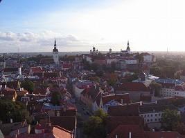 オレフ教会屋上からの景色