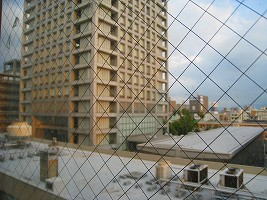 病室の窓から(県庁)